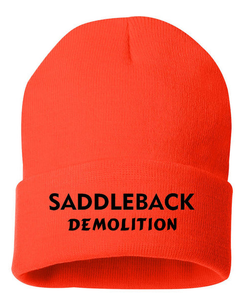 Saddleback Demo - Beanie (Orange)