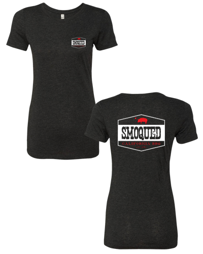 Smoqued - Womens Tee (Vintage Black)