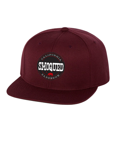 Smoqued - Embroidered Snapback