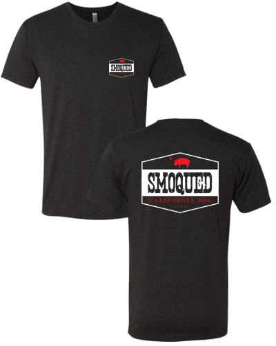 Smoqued - Mens Tee (Vintage Black)