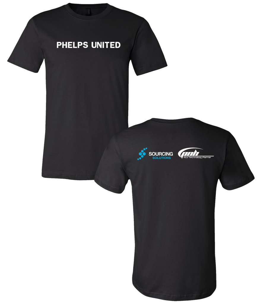 Phelps United - Tee Black (Center)