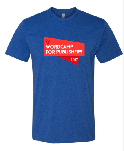 Alley Interactive - Men's Wordcamp Event Tee (Royal Blue)