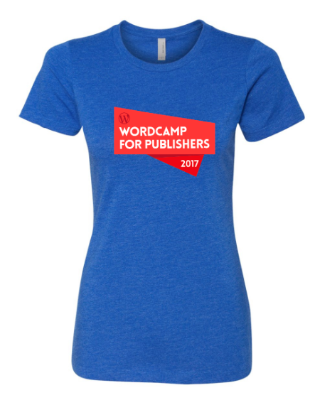Alley Interactive - Women's Wordcamp Event Tee (Royal Blue)