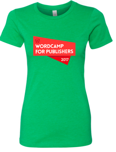 Alley Interactive - Women's Wordcamp Event Tee (Kelly Green)