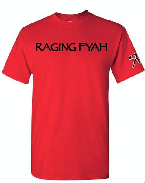 Raging Fyah - Logo Tee (RED)