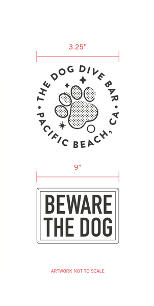The Dog - Beware The Dog - Tee