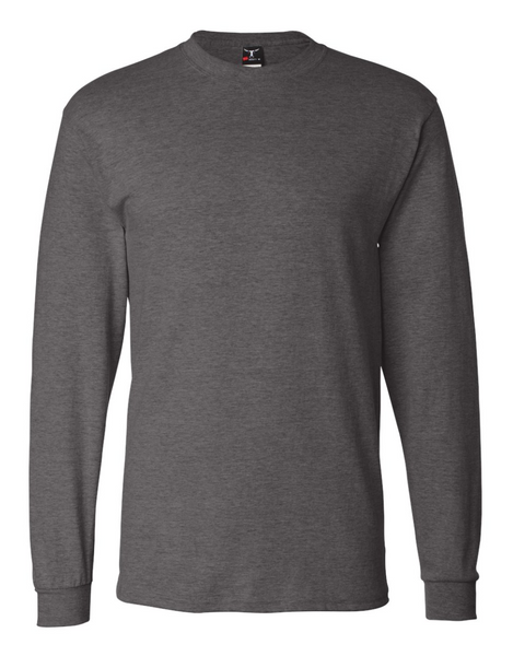 Active Integration - New Heather Charcoal Longsleeve (Beefy Tee)