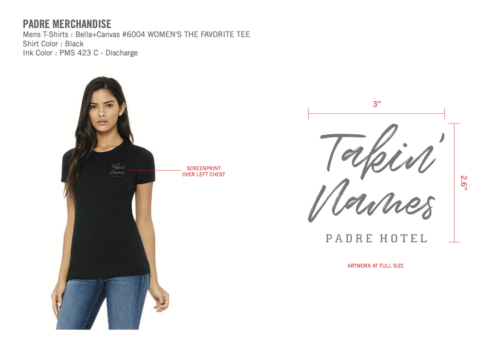 Padre Hotel - Girls Tee