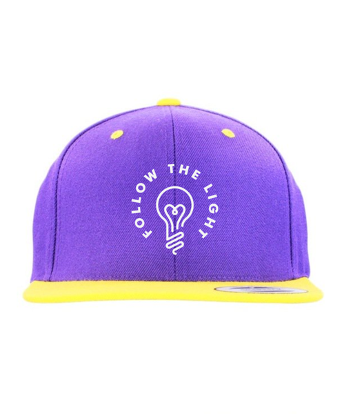Follow The Light - Snapback (Purple/Yellow)