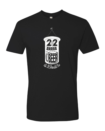TBC - 22 Years of Beer Tee (Mens)
