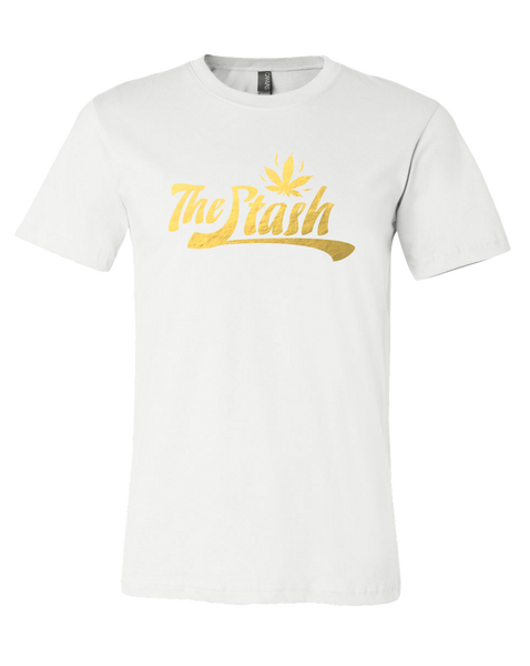 Stash - FOIL Logo Tee (White)