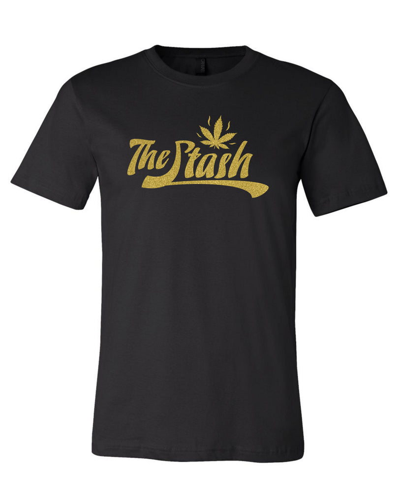 Stash - Gold Logo Tee (Black)