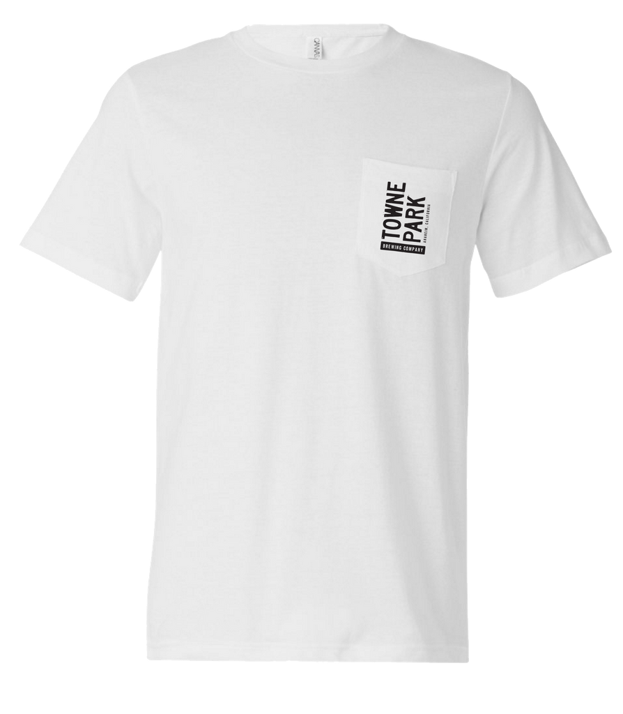Towne Park - Pocket Tee (White)