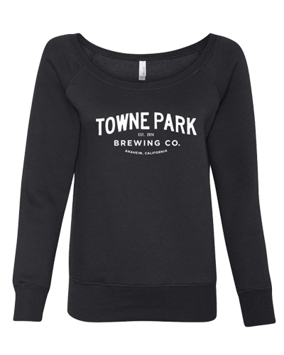 Towne Park - Women Script Off the Shoulder (Black)