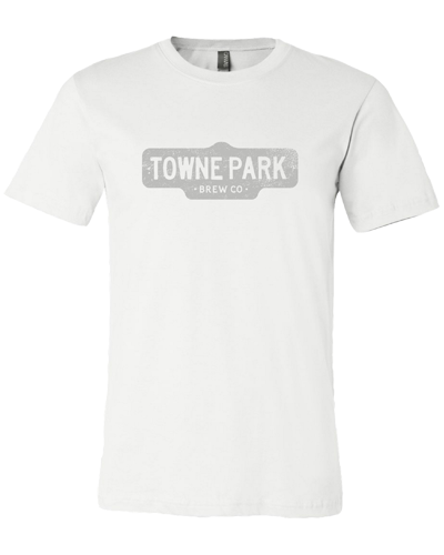Towne Park - Vintage Sign T-Shirt(White)