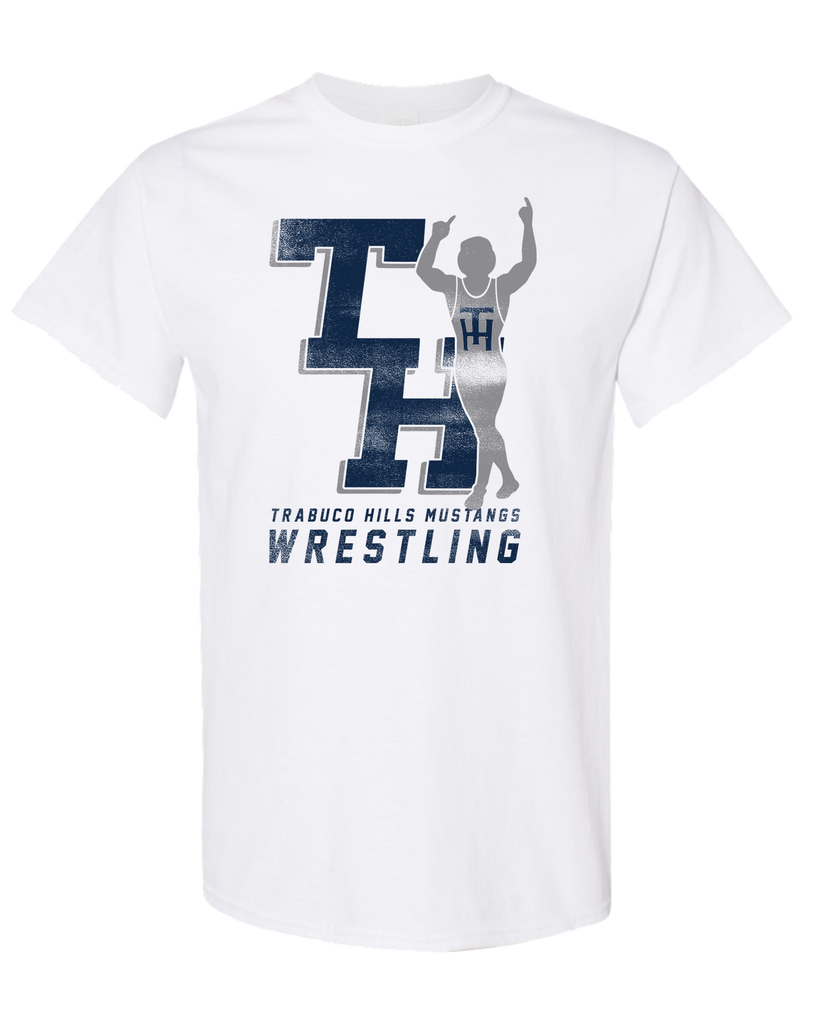 Trabuco - Trey Munoz Logo Tee (White-Distressed)