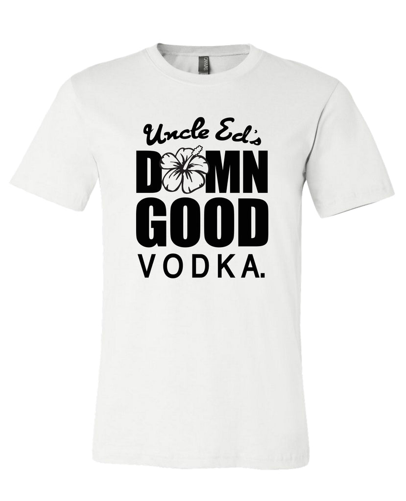 UNCLE ED - DAMN GOOD TEE (Center Logo)