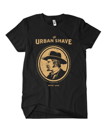 Urban Shave - Icon Tee (Black)