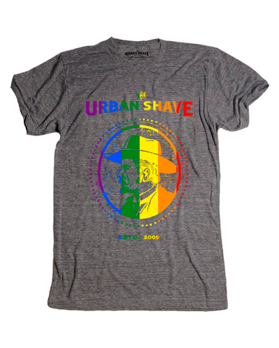 Urban Shave - Pride Tee (Heather)
