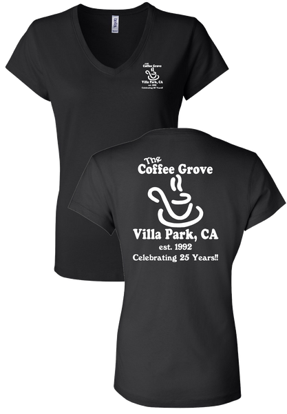The Coffee Grove - Girls Vneck