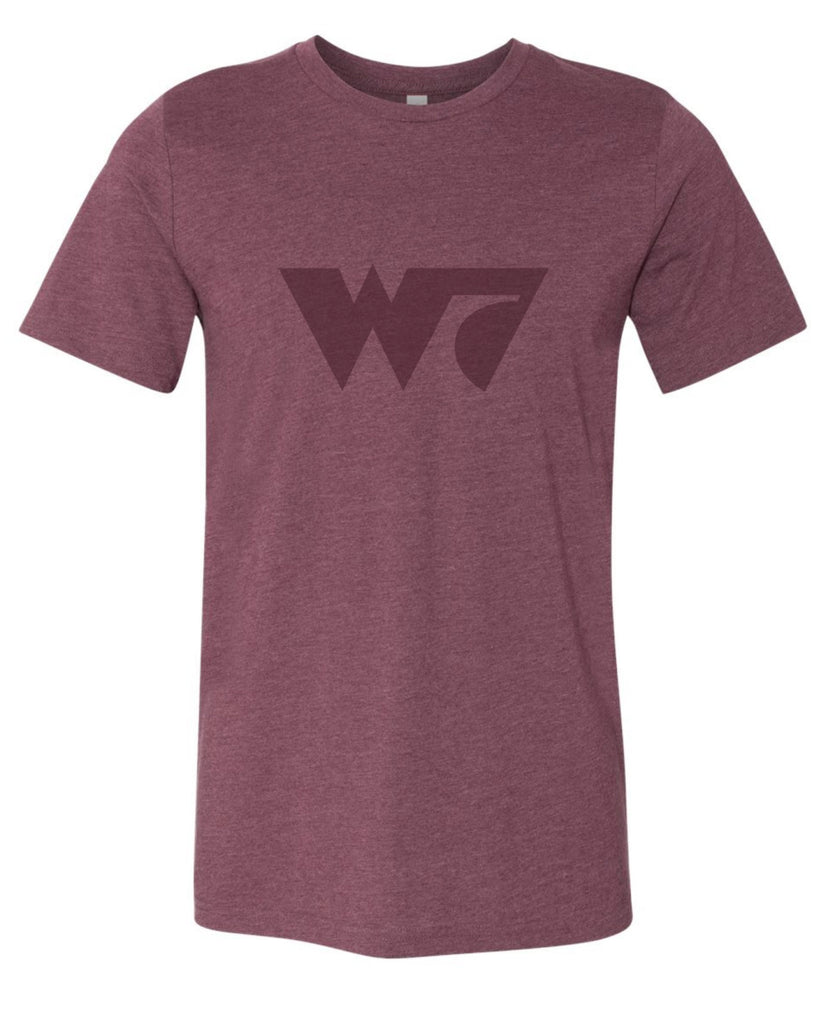 W7 T-shirt (Heather Maroon)