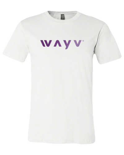 Wayv Tee (White Tee) Purple Foil
