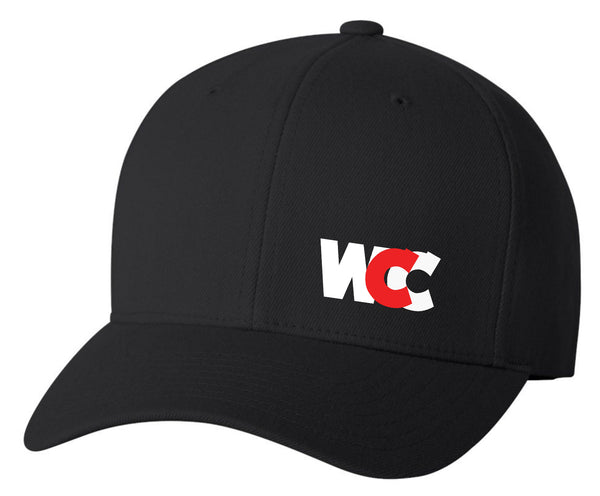 WCC Logo Flexfit (Black) Mesh Back