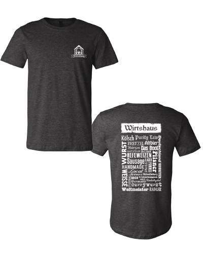 Wirtshaus - German Words Tee