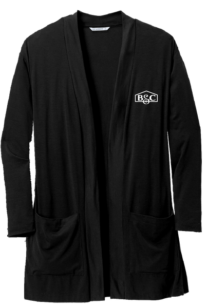 B&C Port Authority ® Ladies Concept Long Pocket Cardigan