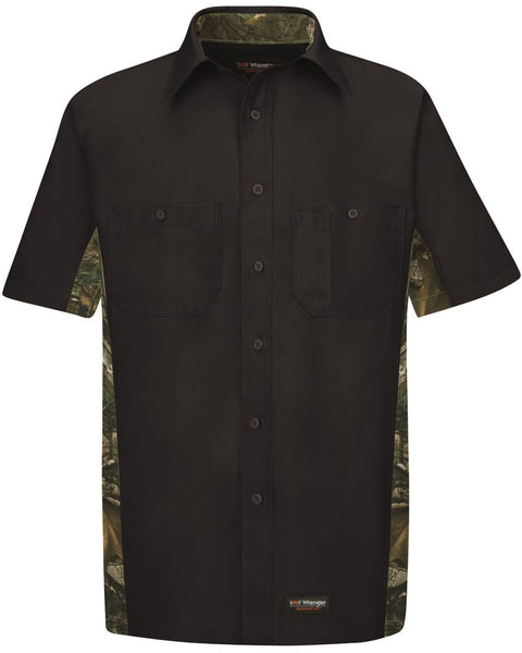 Hitch N' Post - Camo Button Up