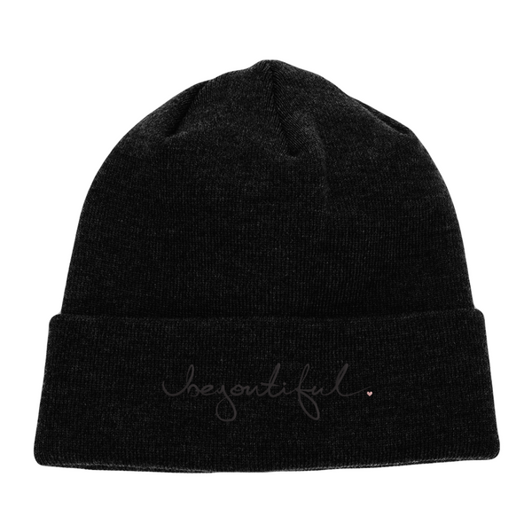 BeYOUtiful - Beanie (Black)