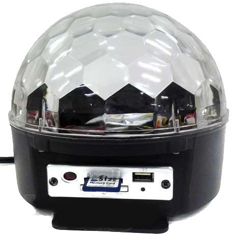 Led Disco Ball With Usb Mp3 And Driver