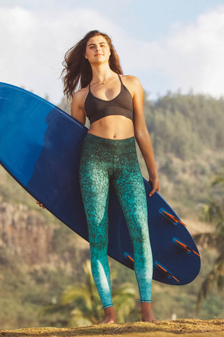 Emerald Scales Leggings