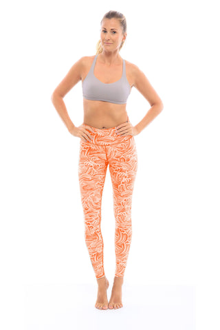 Bali Waves Leggings