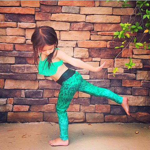 Emerald Scales - Minnow Leggings