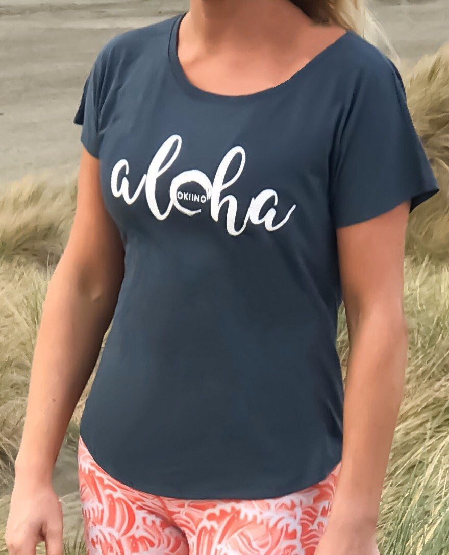Women's Aloha T-shirt - M/one size
