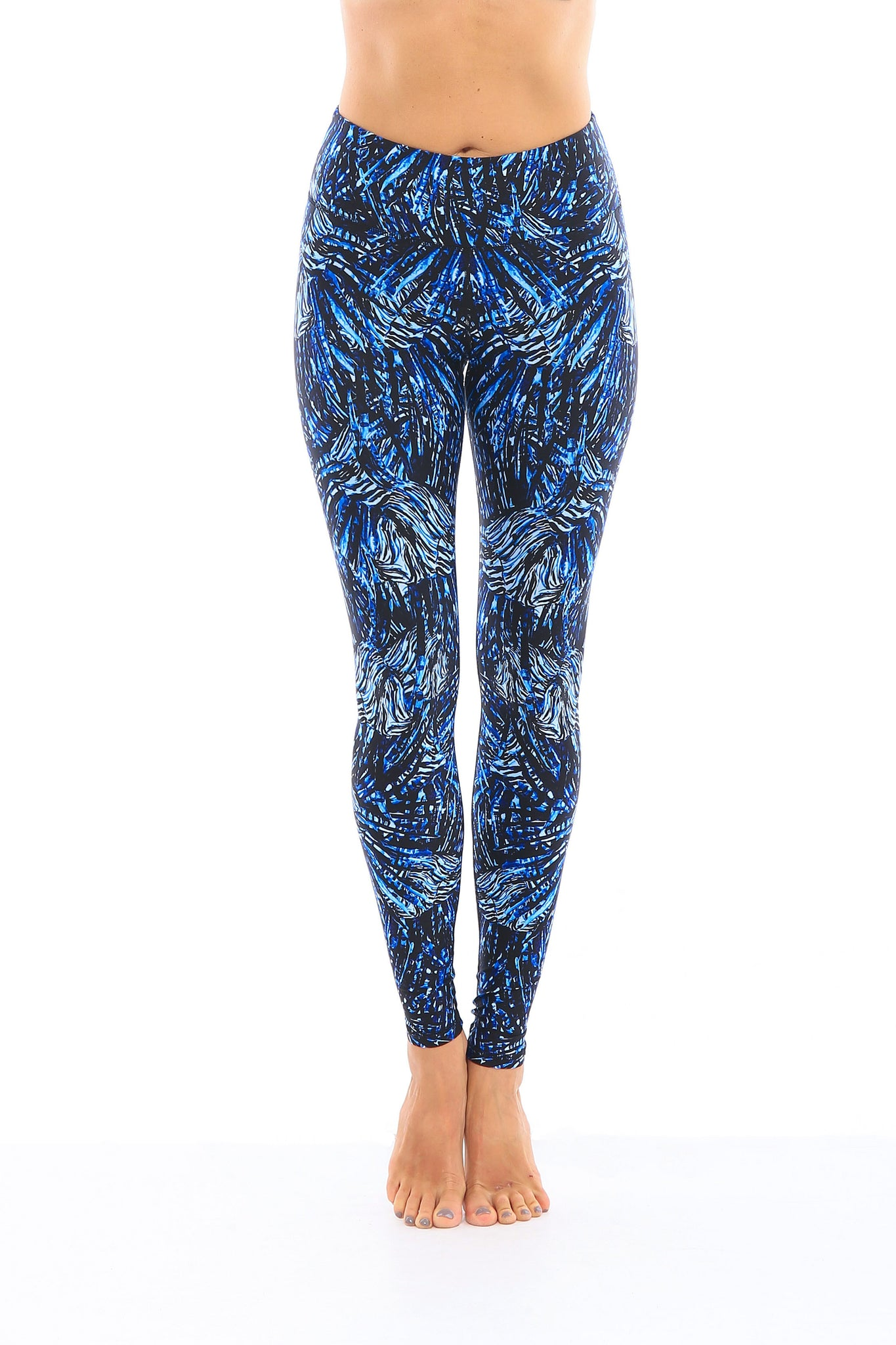 Indigo Lionfish Leggings (LIMITED EDITION)
