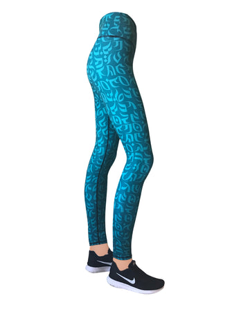 Tahiti Cultura Leggings (LIMITED EDITION)