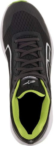 ALPINESTARS META ROAD SHOES BK/WT/GN (9.5)