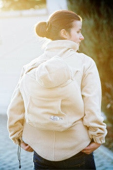 Lenny Lamb Fleece Babywearing Jacket