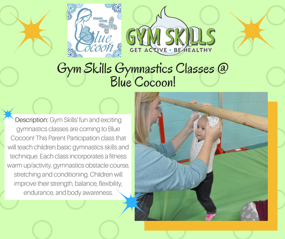 Gymnastics Class by Gym Skills at Blue Cocoon
