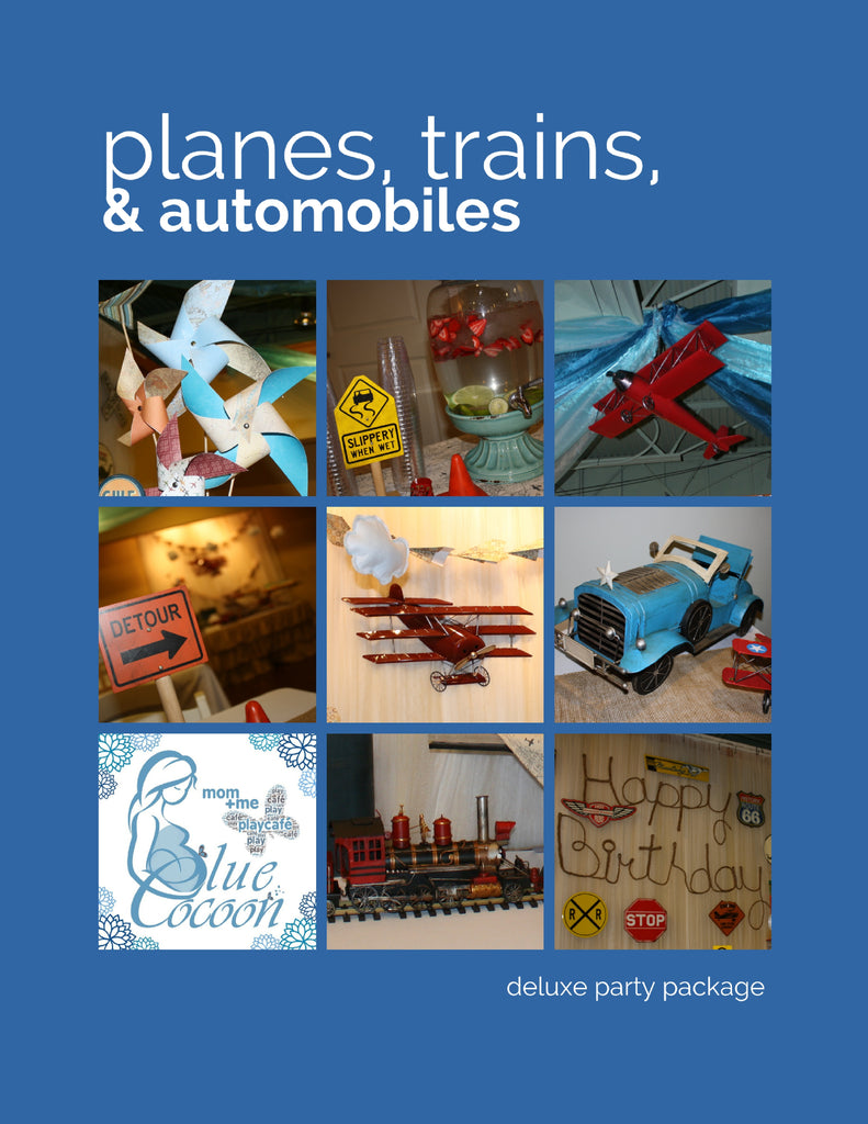 Planes, Trains & Automobiles, Deluxe party
