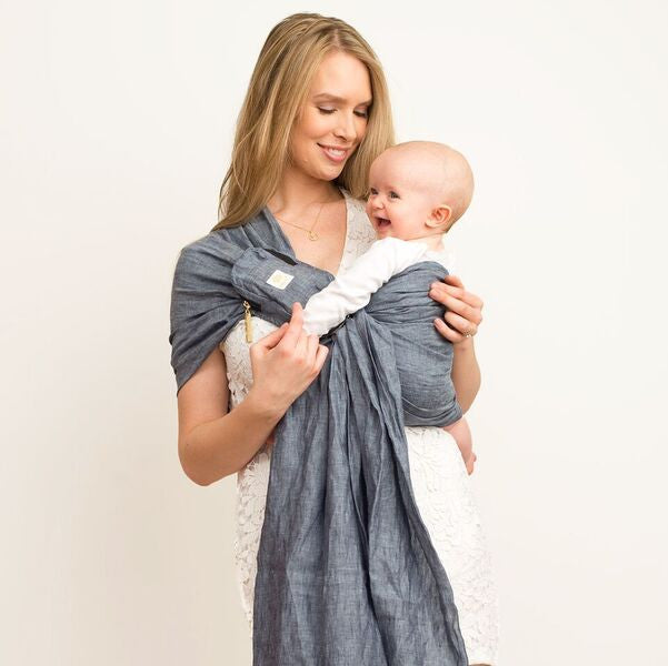 Lillebaby Ring Sling- Heathered Dusk