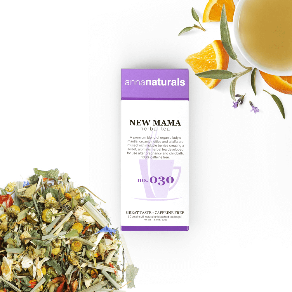 Anna Naturals New Mama Herbal Tea Postpartum Blend