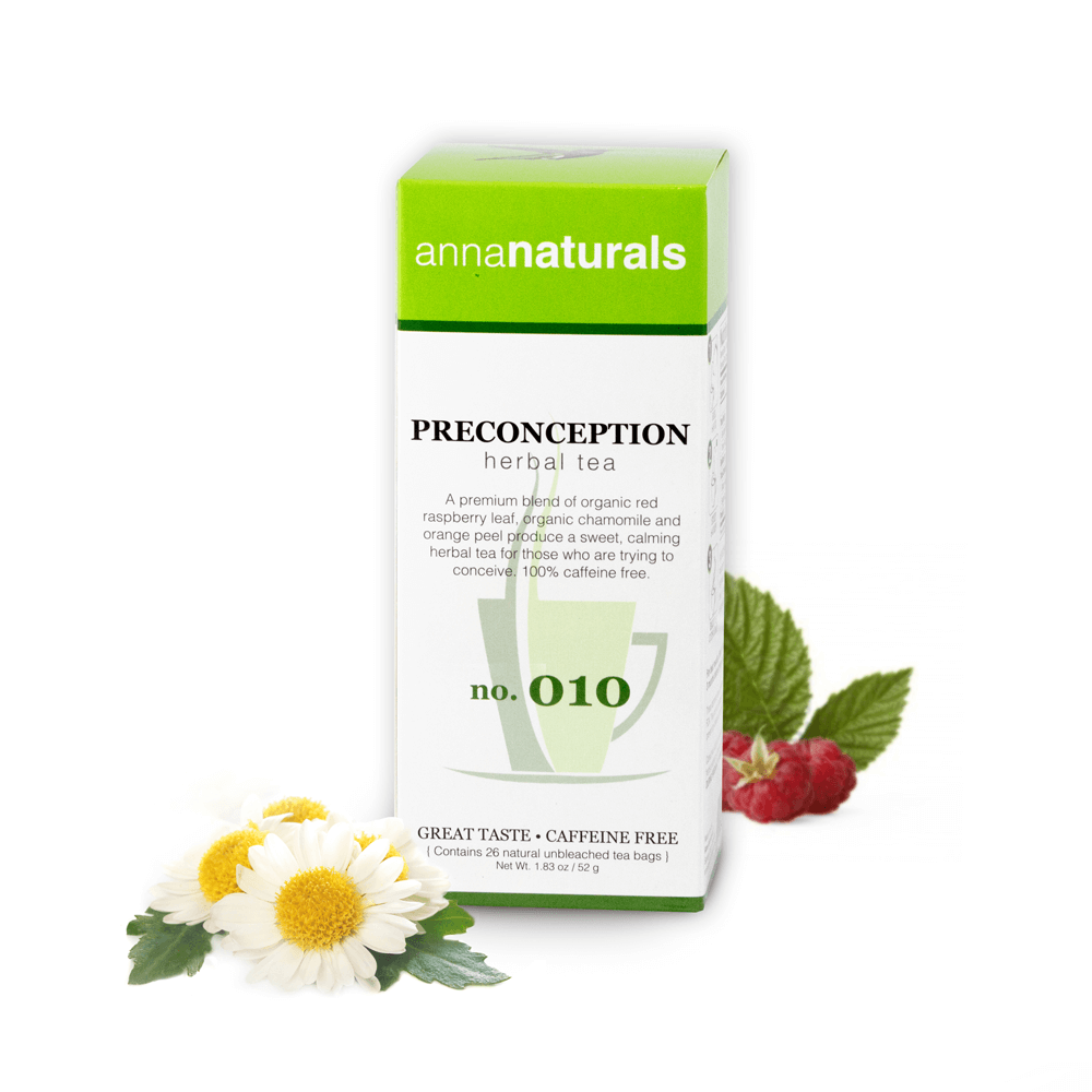 Anna Naturals Herbal Tea: Preconception Blend