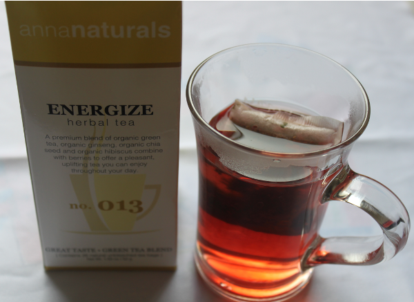 Anna Naturals Energize Herbal Tea