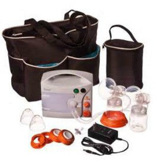 Hygeia EnJoye LBI Breast Pump, Deluxe Tote Set