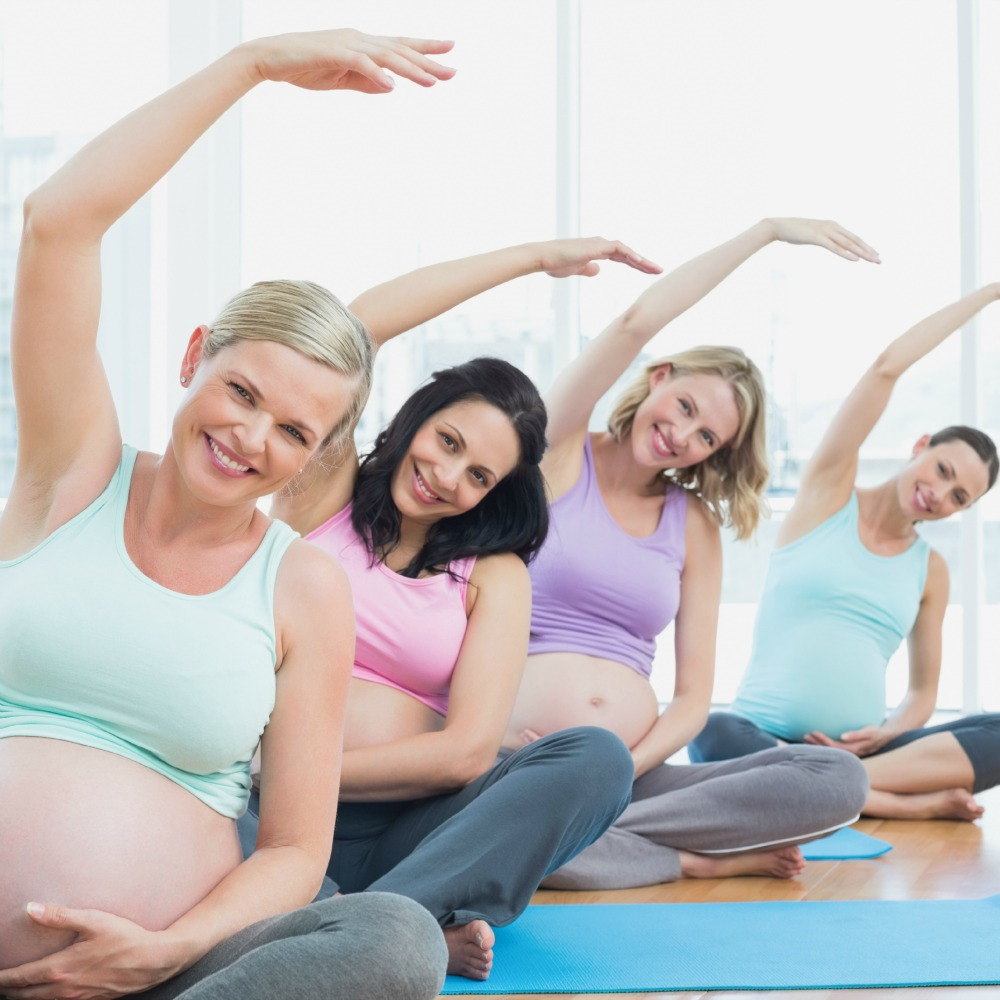 Prenatal Yoga with Aromatherapy