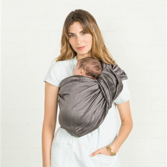 Sakura Bloom Ring Sling Simple Silk - Shadow