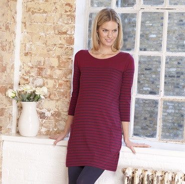 Stripe Tunic Maternity/Nursing